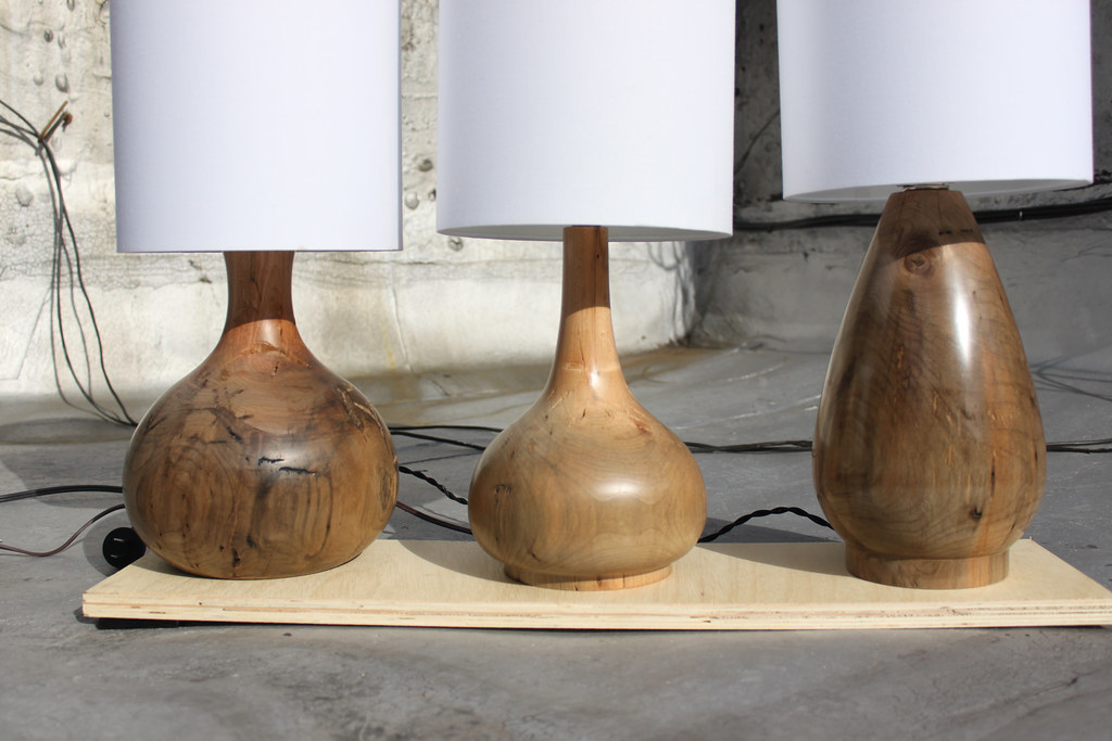 Lake Log Lamps