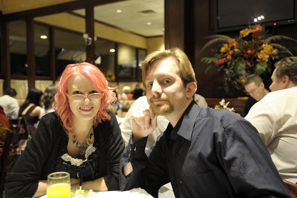 Matthew and I