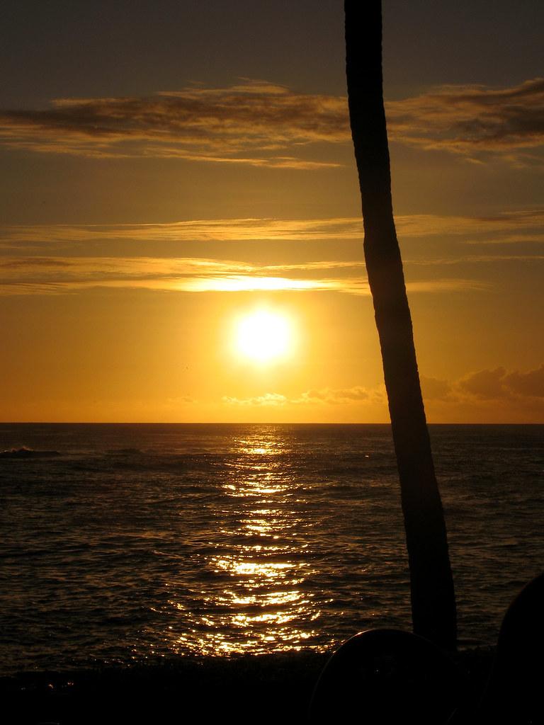 Sunset At The Beach House Restaurant Kauai Best Reason To