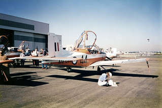 Sale of RAAF CT4 Trainers at Bankstown Aerodrome May 1993