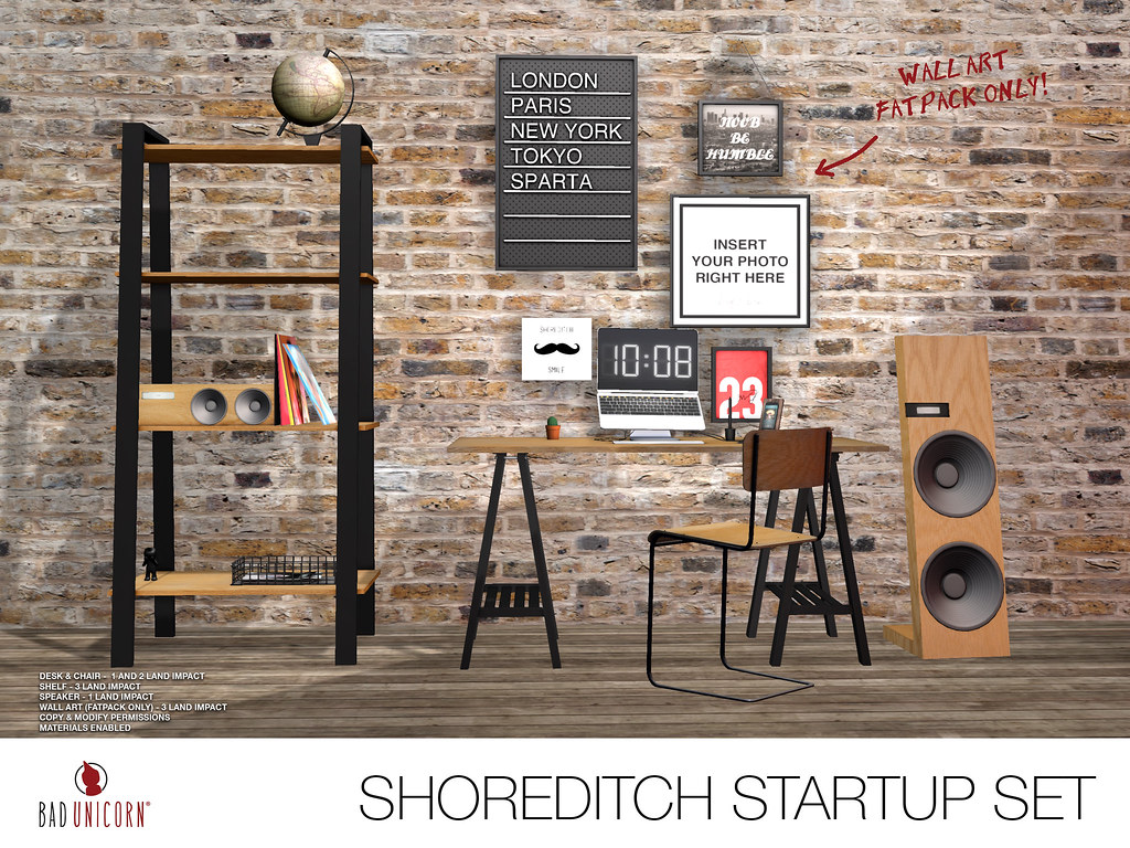 NEW! Shoreditch Startup Set @ TMD - SecondLifeHub.com