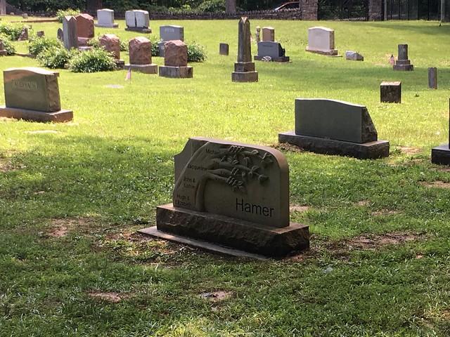 Spring Mill State Park - Hamer Pioneer Cemetery
