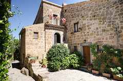 Characteristic Italian village. Civita di Bagnoregio.