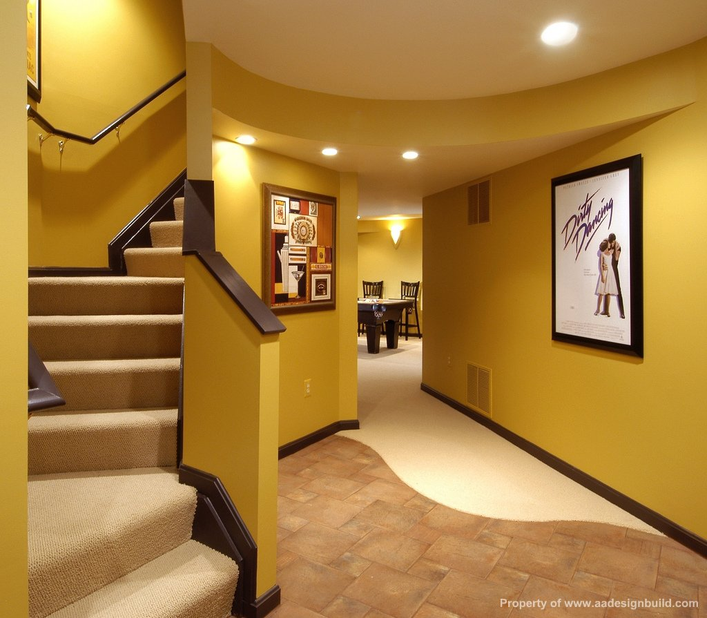 Custom design and remodeling ideas Basement architect