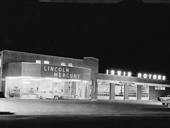 Irwin Motors Lincoln Mercury, Lakeport NH, 1953