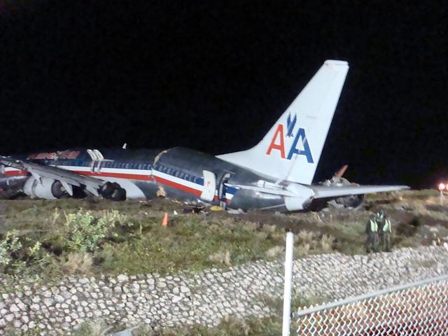 american plane crashes