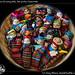 Bowl of worry dolls, San pedro, Guatemala