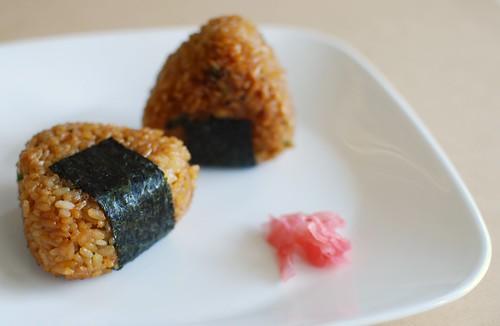 miso yaki onigiri