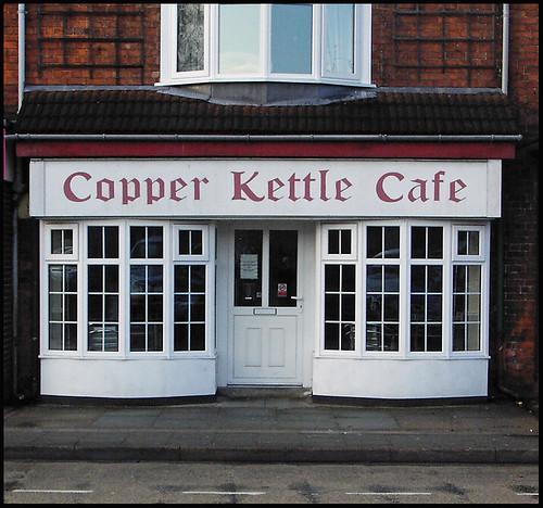 Gainsborough Shopfronts: The Copper Kettle, Trinity Street