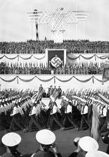Nazi parade
