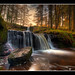 Talybont Waterfalls - January 2010 by Antony....