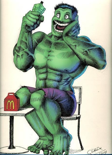 Happy Hulk Flickr Photo Sharing