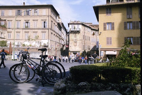 Rocky in Italy by Bike 2001