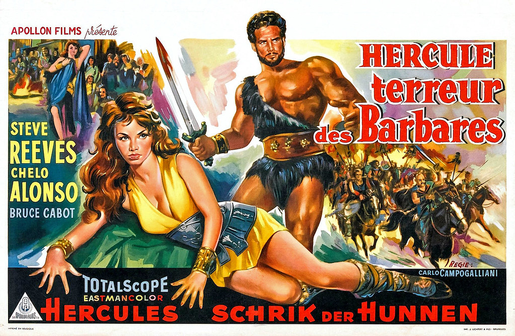 1959 ... Hercules and the Barbarians