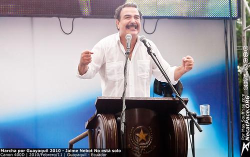 Marcha por Guayaquil 2010 - Jaime Nebot No está solo