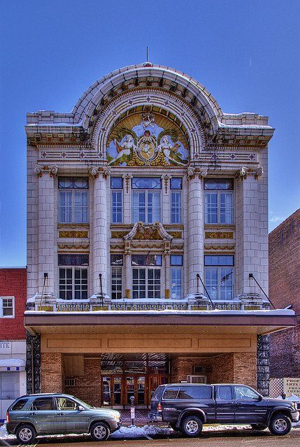 1914 quotbeaux arts architecturequot colonial movie theater