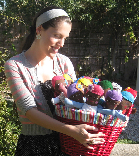 Basket of dollies!