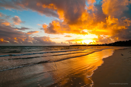 seascape beach clouds sunrise sand philippines bicol sorsogon gubat rizalbeach pcp2011