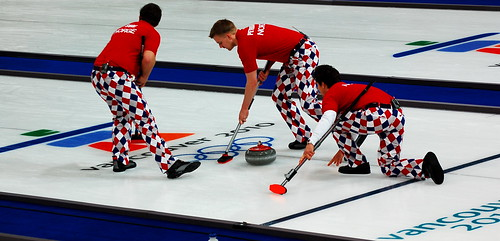 sponsorship of Norwegian Curling team