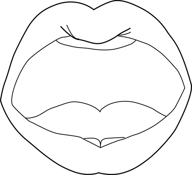 Mouth Outline 39