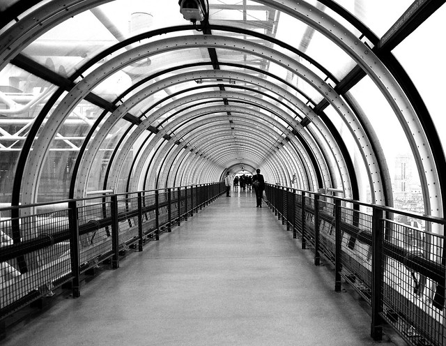 Tunnel Beaubourg