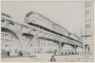 Rapid Transit for San Francisco: Elevated structure (1952)