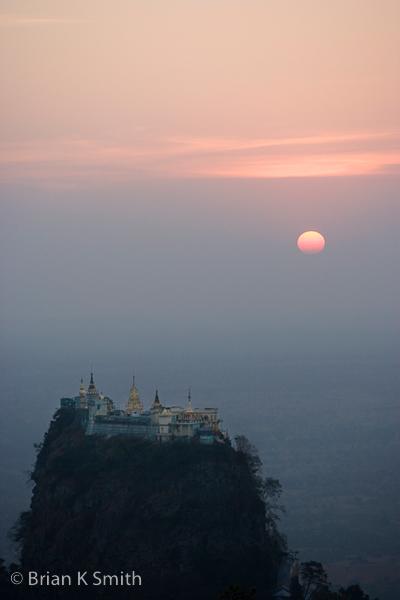 Taung Kalat Monastery, Mount Popa by Adventurocity