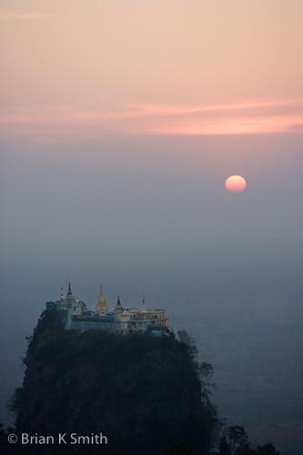 Taung Kalat Monastery, Mount Popa