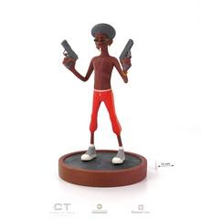 CreativeTools.se - PackshotCreator - 3D printed 3D character - By Tomas Paulsson