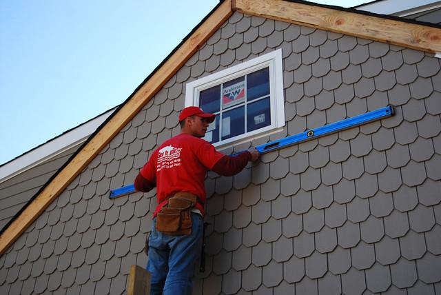 Cement Board Siding Installation : Fiber cement board siding installation flickr photo
