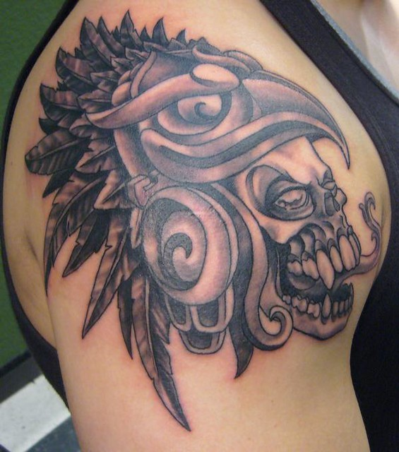 Aztec Skull Headdress Pictures to Pin on Pinterest ...