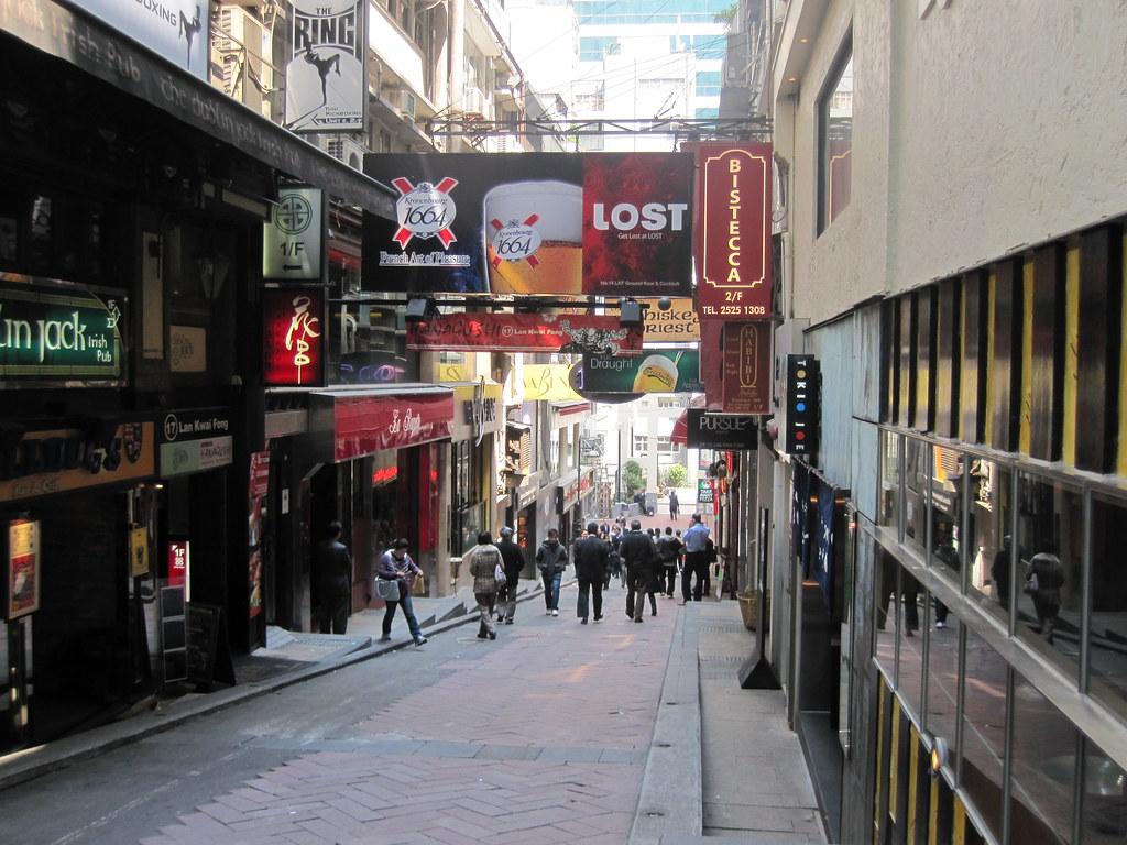 Lan Kwai Fong - Hong Kong