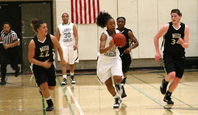 Laticia Booker leads a fast break | Flickr - Photo Sharing!