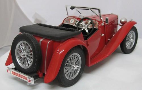 1947 MG TC Midget Sports Car rear right