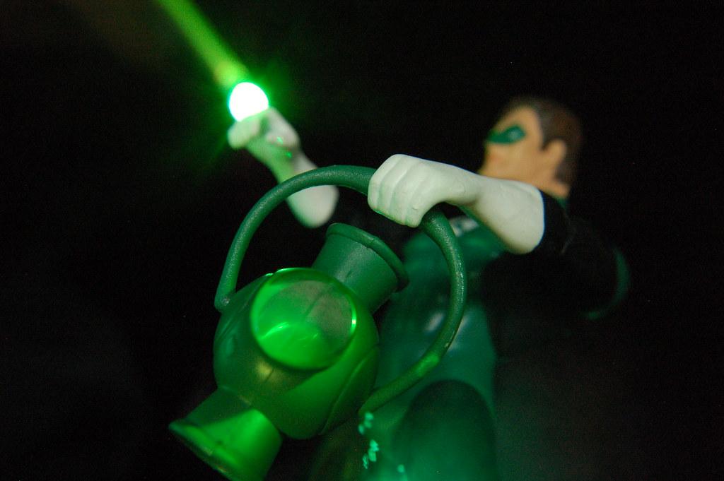G is for Green Lantern Hal Jordan