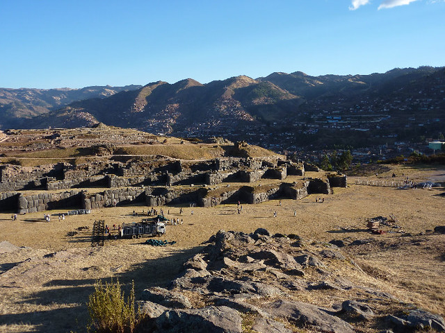 Sacsayhuaman Inca Fortress Ruins - Cusco City, Peru, South America