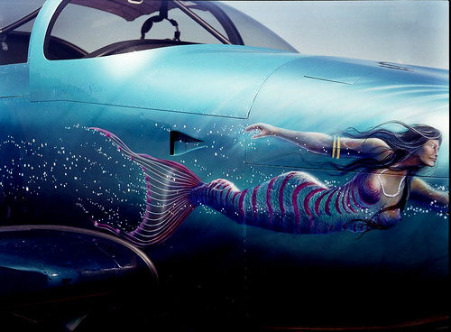 Mermaid Nose Art
