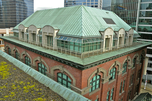 Sinclair Centre -- the old post office building & the Winch Building