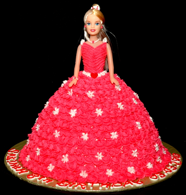 Doll Cake Images With Name : Lea Oven: Red Doll Cake