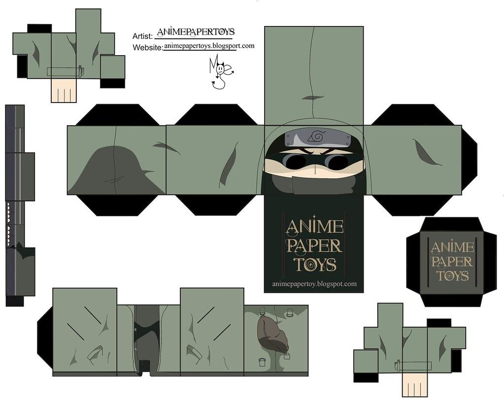shino aburame naruto shippuden papercraft a photo on flickriver