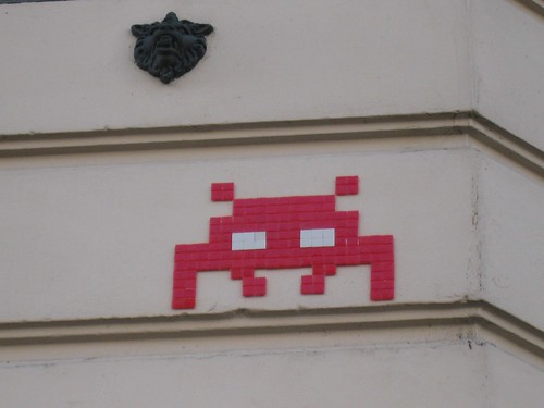 Space Invader PA_838 : Paris 11eme
