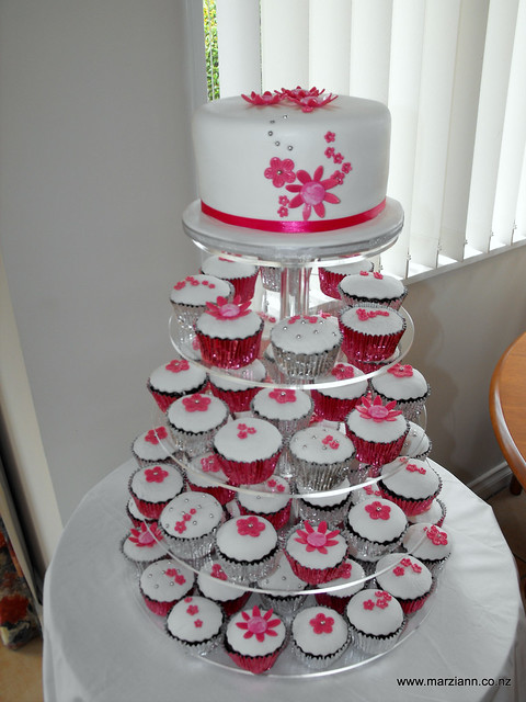 pink white and silver wedding cakes 4526135125 4275318898 z jpg 18601