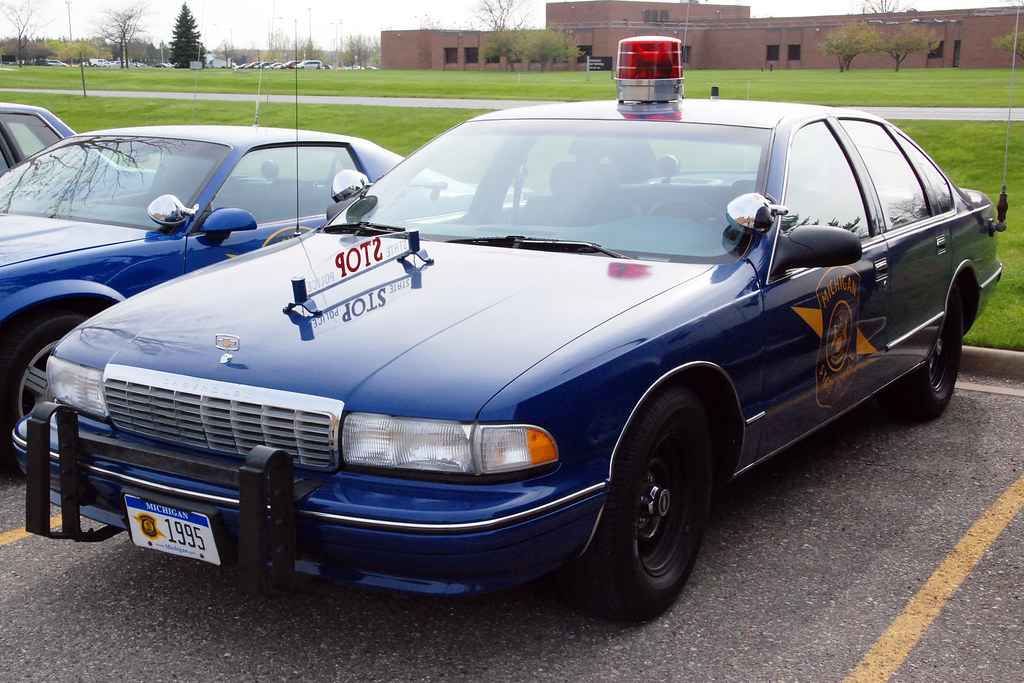 michigan state police cars  chevrolet caprice