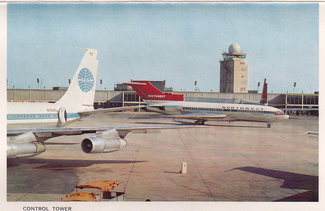 Vintage Postcard - Chicago O'Hare International Airport