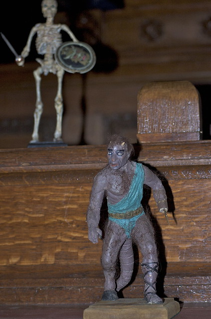 Models by Ray Harryhausen | Flickr - Photo Sharing!