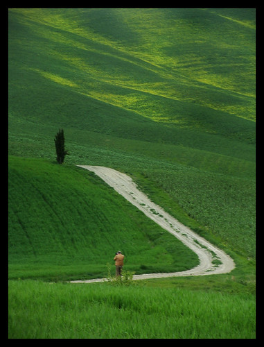 Tuscany, Green Orcia Valley - Star