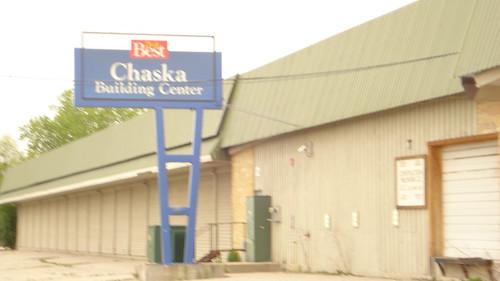Chaska Building Center - Sign along Hwy. 212