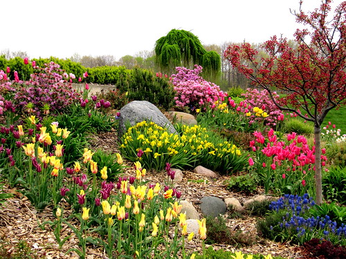 A springtime garden courtesy of rkramer62, on Flickr