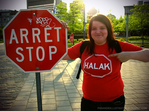 Stop in the name of Halak