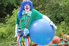 Clowning ball